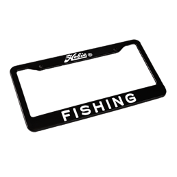 License Plate Frame - Fishing