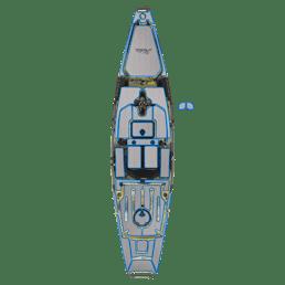 Complete EVA Deck Pad Kit - Pro Angler 14