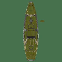 Complete  EVA Deck Pad Kit  -  Pro Angler 12