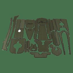 Complete EVA Deck Pad Kit  - Outback 2019+