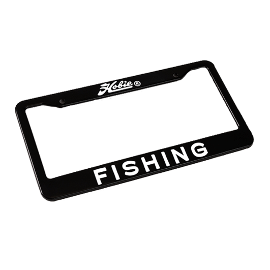 License Plate Frame - Fishing