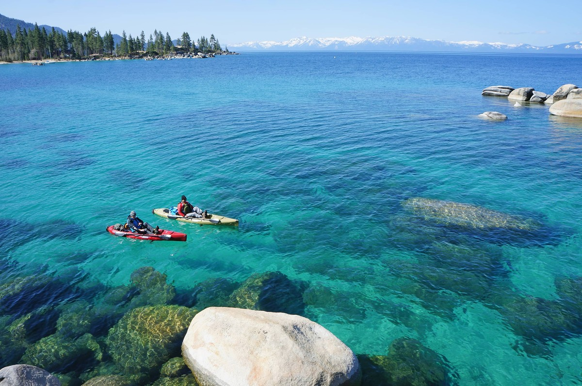 Alter Your Boundaries Spring Escape To Sand Harbor
