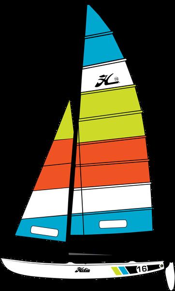 Hobie 16 Specifications : Fiberglass Sailboats : Hobie