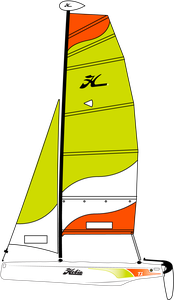 2017 Hobie T1  - Martinique