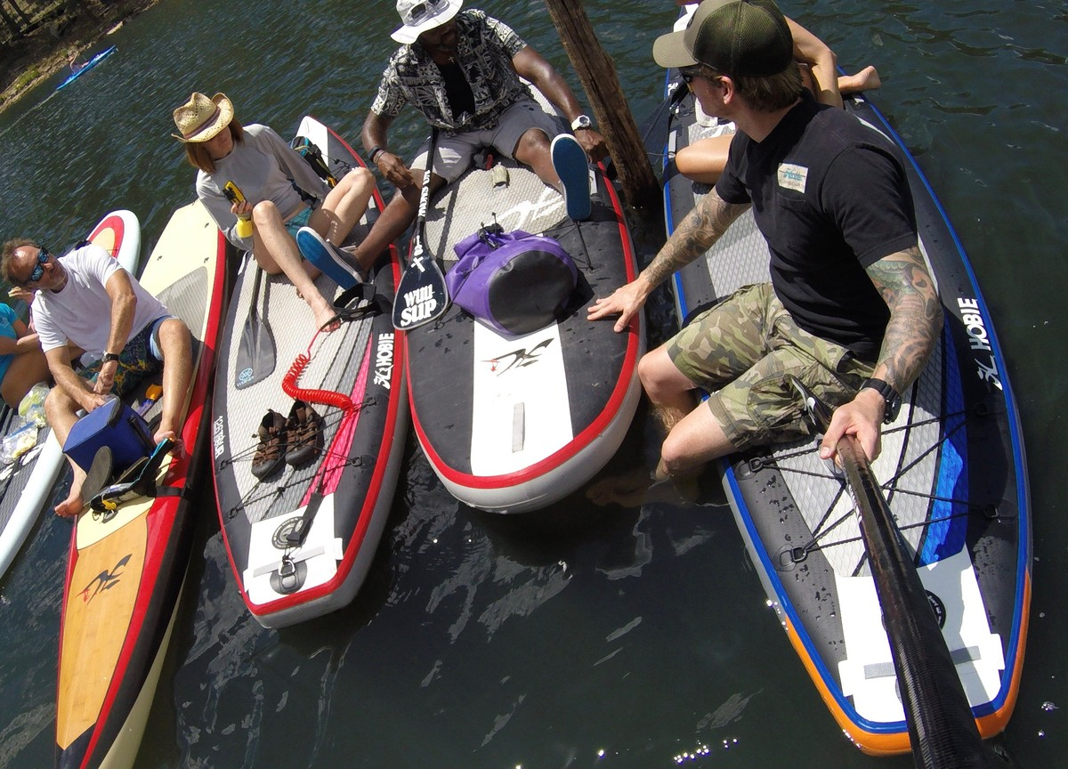 Article image - Paddling Toward A Positive Way Of Life