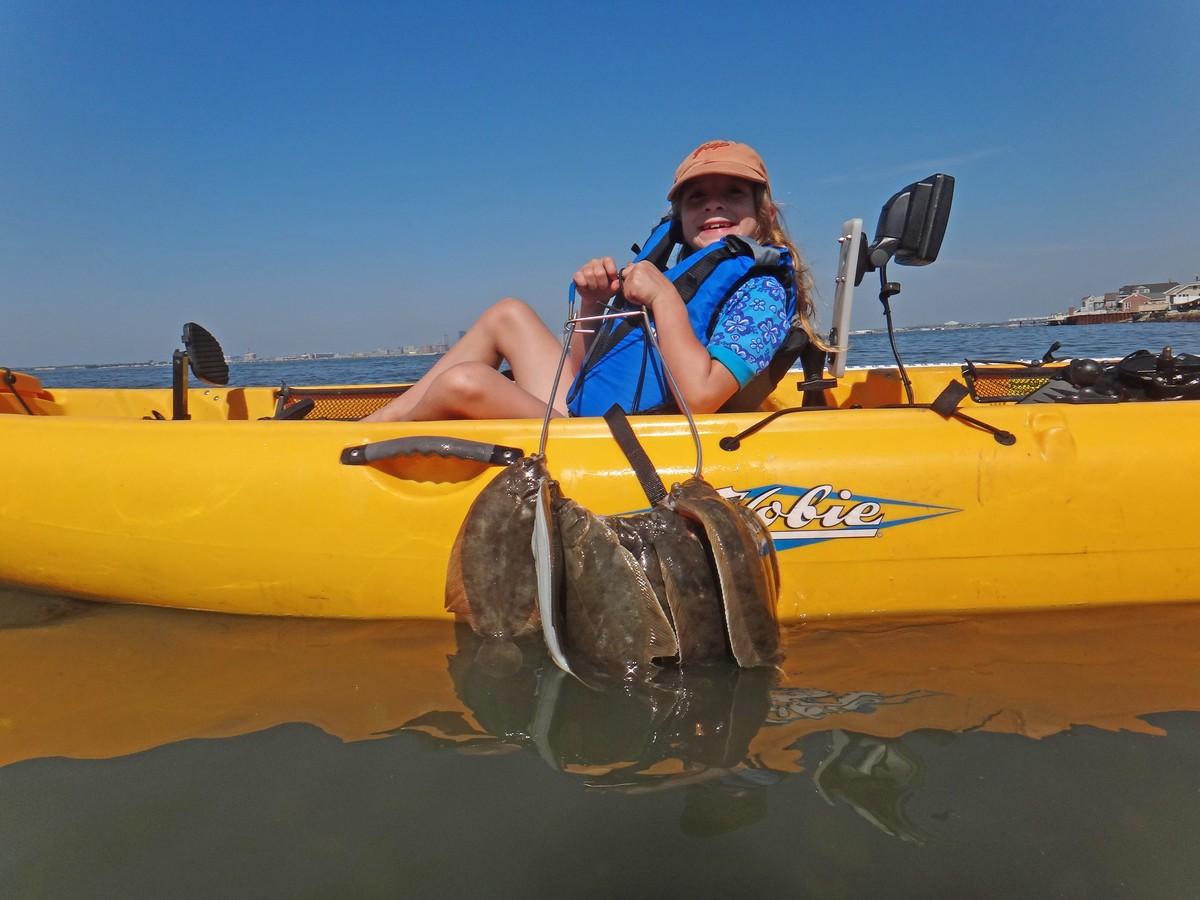 Article image - Kayaking for Winter Flounder