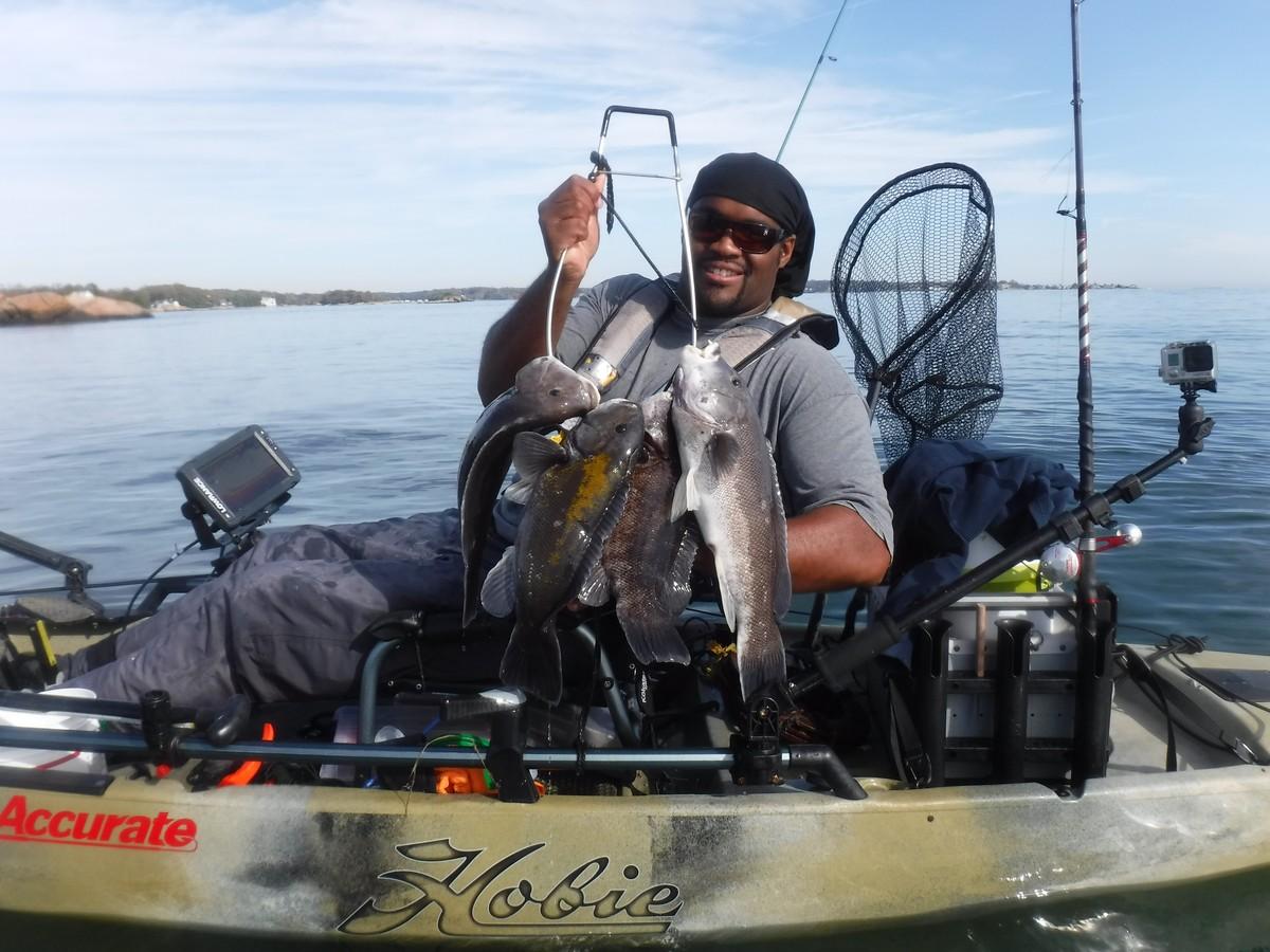 Article image - Inshore Kayak Tautog Fishing