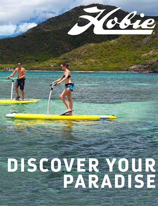 Hobie Mirage Eclipse Quad-Fold Brochure