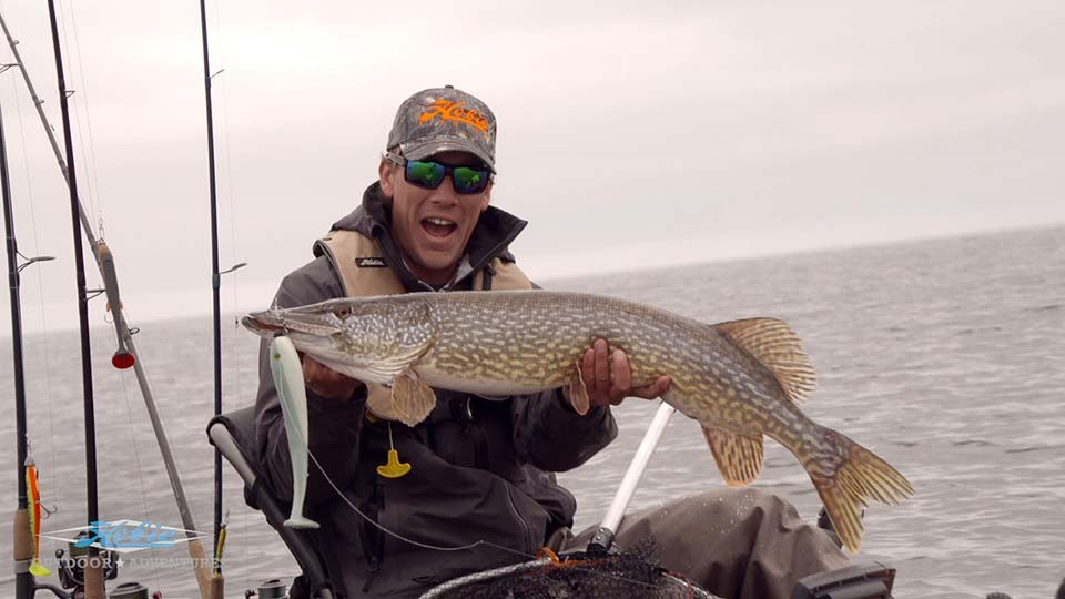 Kayak Fishing for Monster Pike in Sweden