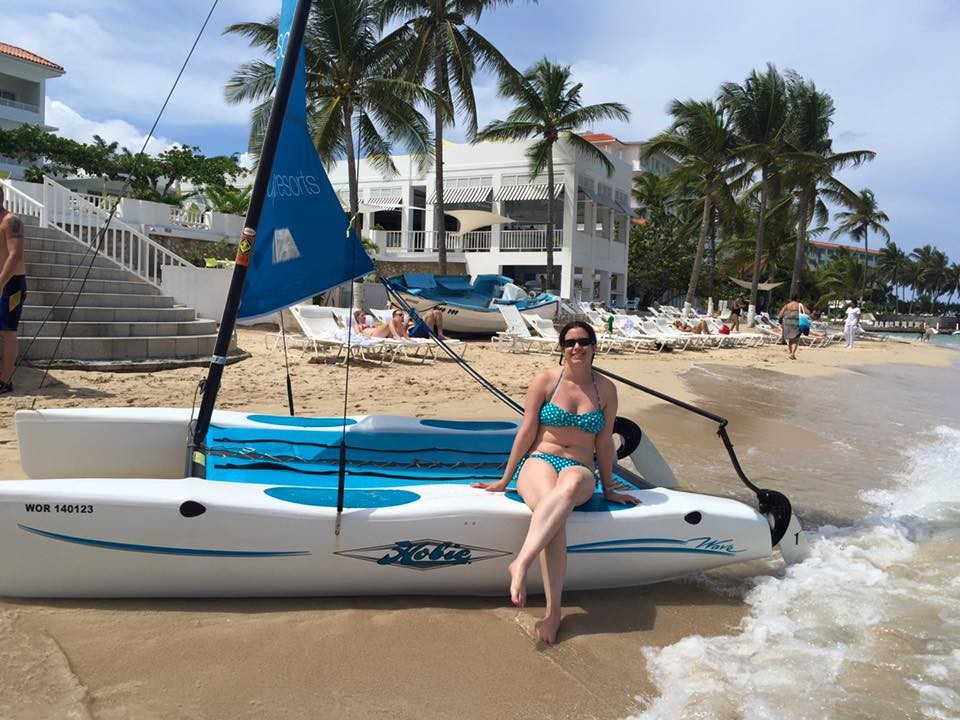 Article image - The Wave, a Hobie for a honeymoon.