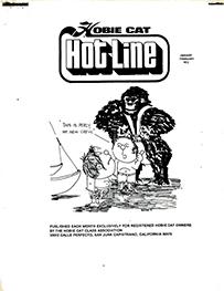 Hobie Hotline - January/February, 1972