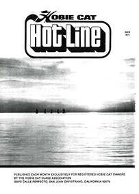 Hobie Hotline - June, 1972
