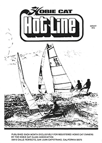 Hobie Hotline - August, 1972