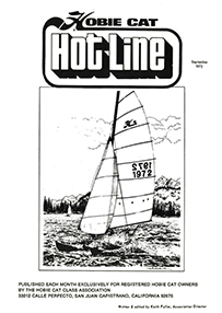 Hobie Hotline - September, 1972
