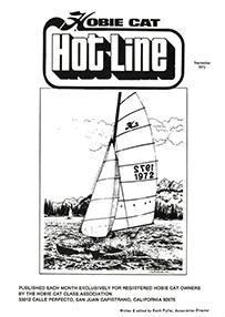 Hobie Hotline - September, 1972