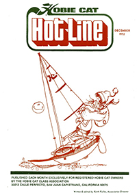 Hobie Hotline - December, 1972