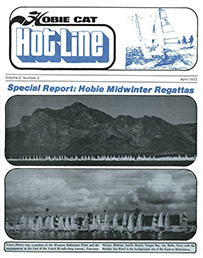 Hobie Hotline - April, 1973