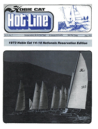 Hobie Hotline - August, 1973