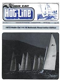Hobie Hotline - August, 1973