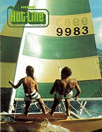 Hobie Hotline - July/August, 1976