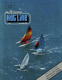 Hobie Hotline - July/August, 1980