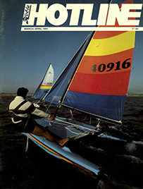 Hobie Hotline - March/April, 1983