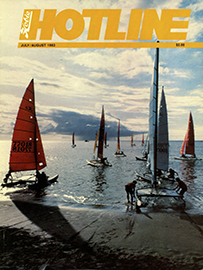 Hobie Hotline - July/August, 1983