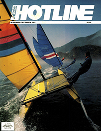 Hobie Hotline - November/December, 1983