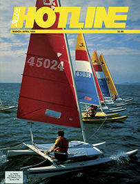 Hobie Hotline - March/April, 1984