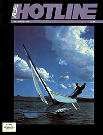 Hobie Hotline - July/August, 1984