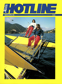 Hobie Hotline - March/April, 1985