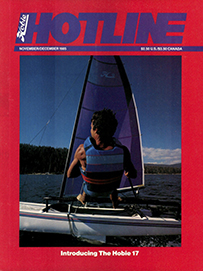 Hobie Hotline - November/December, 1985
