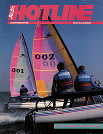Hobie Hotline - January/February, 1986