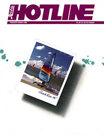Hobie Hotline - February/March, 1986