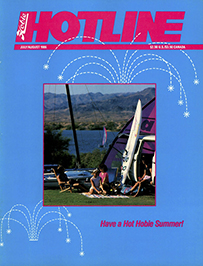 Hobie Hotline - July/August, 1986