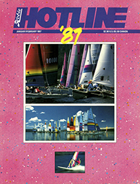Hobie Hotline - January/February, 1987