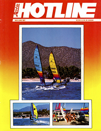 Hobie Hotline - May/June, 1987