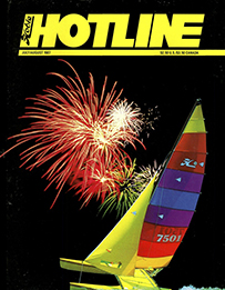 Hobie Hotline - July/August, 1987