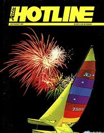 Hobie Hotline - July/August, 1987