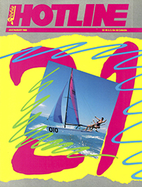 Hobie Hotline - July/August, 1988