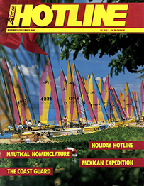Hobie Hotline - November/December, 1988