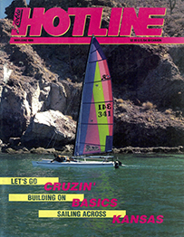 Hobie Hotline - May/June, 1989