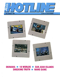 Hobie Hotline - July/August, 1989
