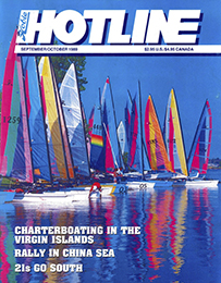 Hobie Hotline - September/October, 1989