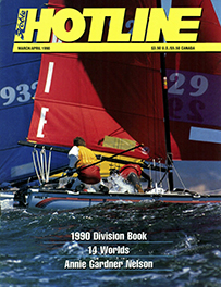 Hobie Hotline - March/April, 1990