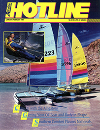 Hobie Hotline - January/February, 1991