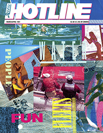 Hobie Hotline - March/April, 1991