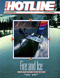 Hobie Hotline - November/December, 1991