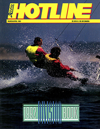Hobie Hotline - March/April, 1992