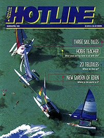 Hobie Hotline - March/April, 1995